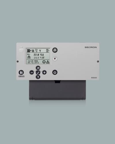 Vremensko voden regulator in kotlovni regulator KXD10B